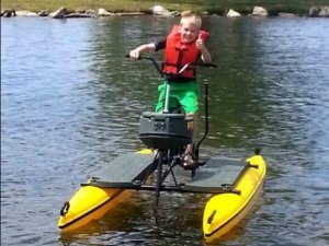 HydroBike with boy image