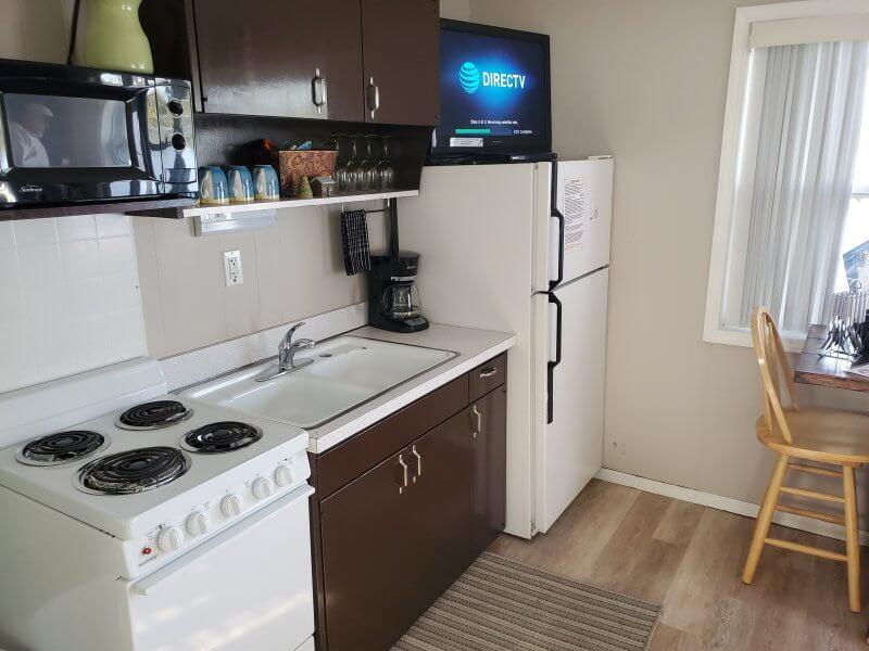 Cabin 4 Kitchen Area