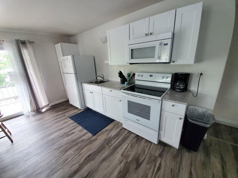 Unit 19 Kitchen Area