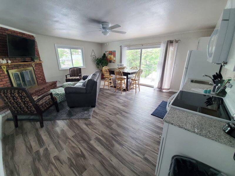 Unit 19 Living Kitchen Area